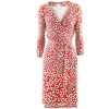 Diane von Furstenberg Red White Dress New Julian