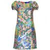 Dolce & Gabbana Paillettenbesetztes Seidenkleid