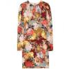 Dolce & Gabbana Shiftkleid Aus Seide Mit Foto-Print