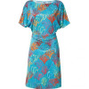 Issa Sea Kimono Sleeve Silk Jersey Dress