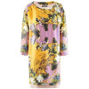 Odeeh Yellow Multi Print Dress