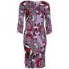 Versace Collection Cocktailkleid / festliches Kleid flieder/rot