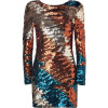 By Malene Birger Mystery Copper/Petrol Sequined Dress