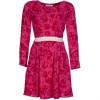 Libelula Beatrix Blusenkleid hot pink