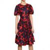 Marc By Marc Jacobs Blumen Bedrucktes Seiden Twill Kleid