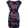 Marc by Marc Jacobs Horizon Teal Floral Silk Dress