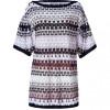 Missoni Ivory/Black/Nude Patterned Dress