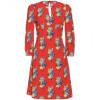 Miu Miu Kleid Mit Blüten-Print
