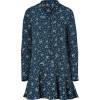 Paul & Joe Marine Silk Sacripan Shirtdress