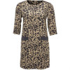 School Rag Raya Cocktailkleid / festliches Kleid kaki leopard