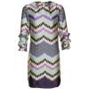 Vilagallo Printed Aline Dress Blusenkleid multi coloured