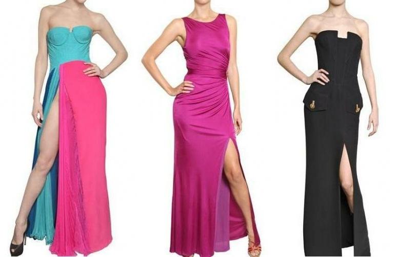Der fünfte Trend für Frühjahr / Sommer 2012 - asymmetrische Kleider