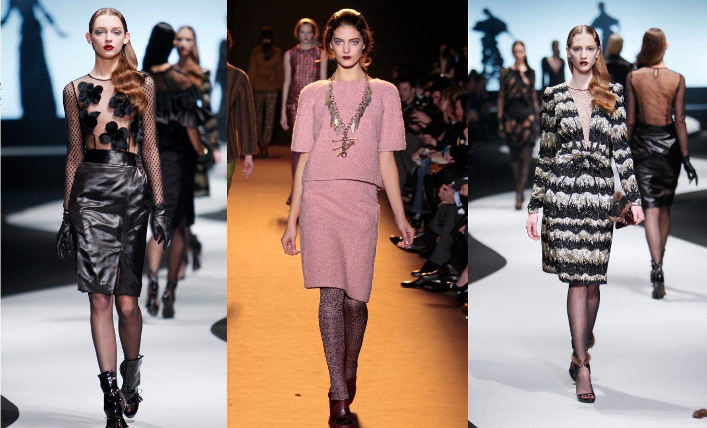 Mittellange Kleider – der Look für den roten Teppich 2012?