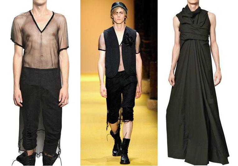 Designer Kleider für Herren - was ist da los?