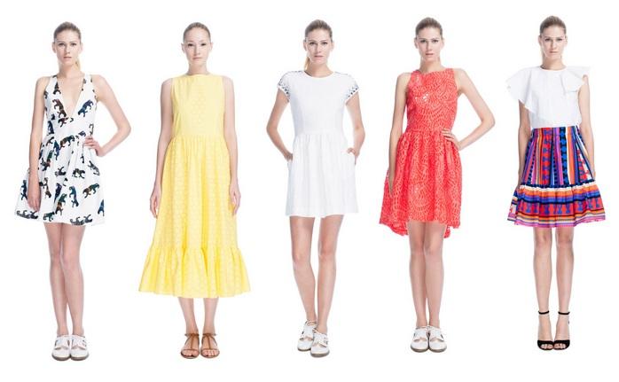 MSGM Kleider 2013 – bunt und super sexy