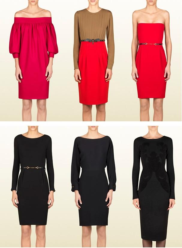 Gucci-Kleider für Herbst/Winter 2012/13