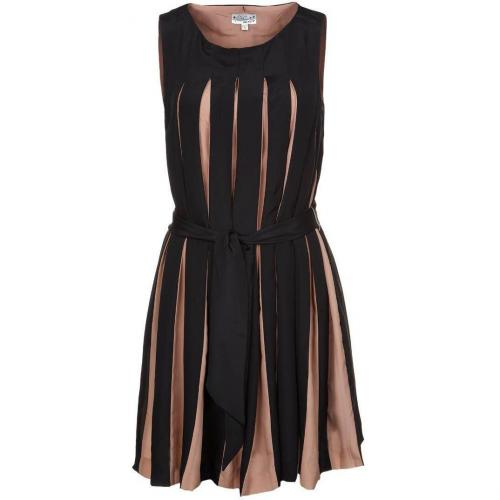 Debo Plisette Cocktailkleid / festliches Kleid noir