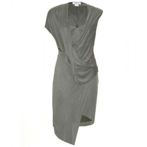 Designer kleid grun