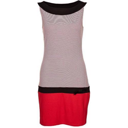 s oliver selection jerseykleid red stripes. Black Bedroom Furniture Sets. Home Design Ideas