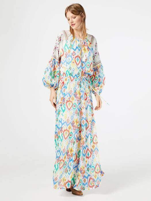 Hippie Blumenkleid