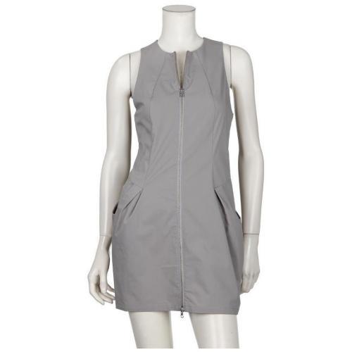 Adidas Slvr Kleid Form Dress Grau