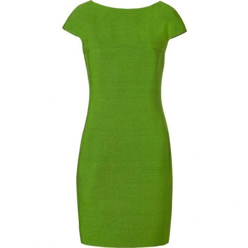 Akris Leaf Green Silk Dress