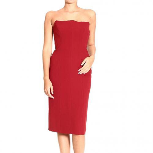 Alberta Ferretti Bustier cady dress