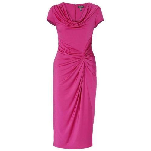 Платья для полных женщин с драпировкой