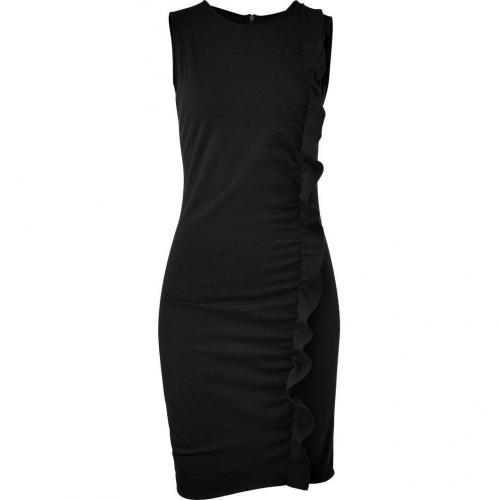 Azzaro Black Melodico Knit Dress