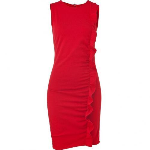 Azzaro Scarlet Melodico Knit Dress