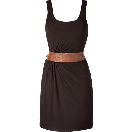 Bailey 44 Chocolate Belted Tank Dress