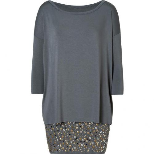 Bailey 44 Grey Studded Balls to the Wall Dress