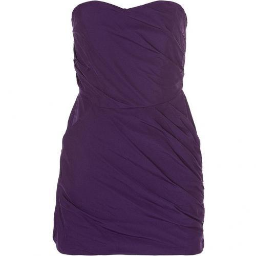 Bird by Juicy Couture Purple Draped Mini Dress