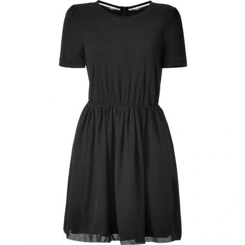 Burberry Brit Black Casual Silk Kleid