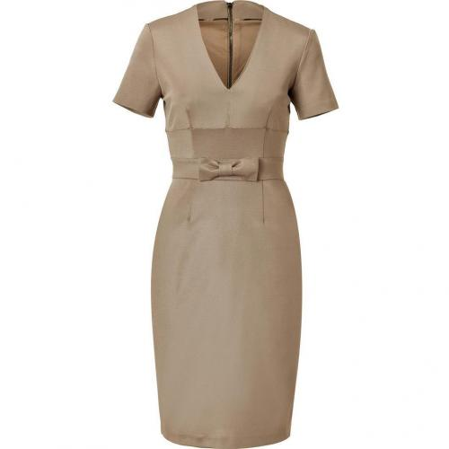 Burberry London Taupe Moina Kleid