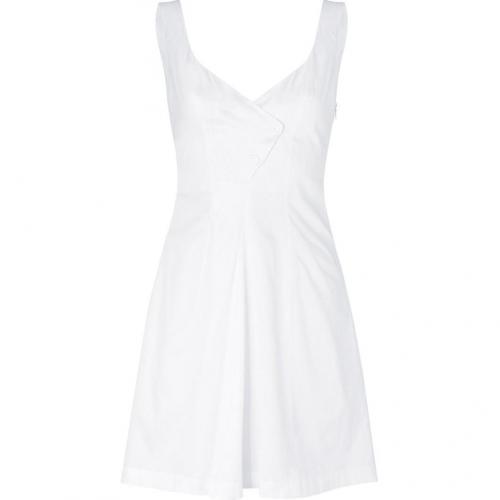 Cacharel White Cotton Kleid