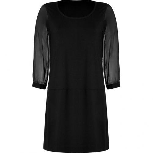 DKNY Black Combo Kleid