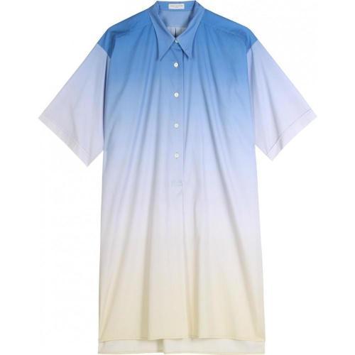 Dries Van Noten Conny Oversize Hemdblusenkleid