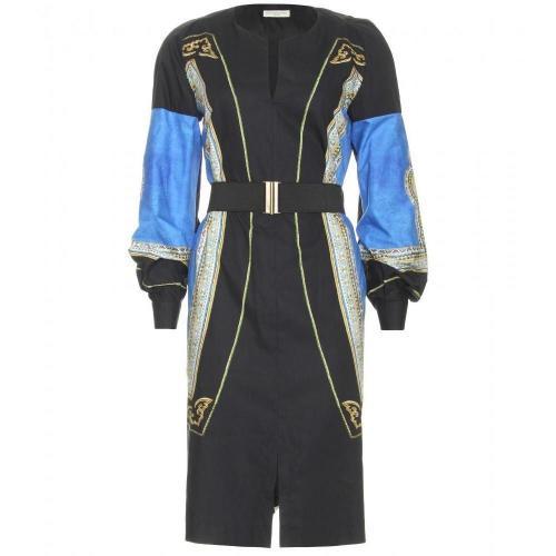 Dries Van Noten Dio Print-Kleid