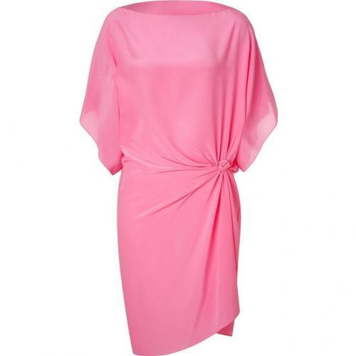 Emanuel Ungaro Pink Silk Tunic  Kleid