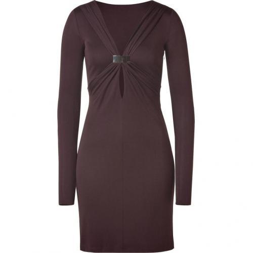 Emilio Pucci Chocolate Draped Dress