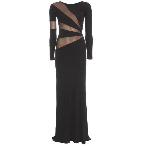 Emilio Pucci Langes Abendkleid Mit Rückendekolletee