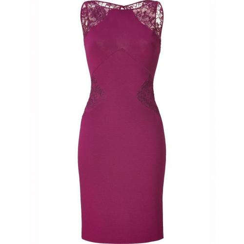 Emilio Pucci Lotus Dress with Lace Inserts