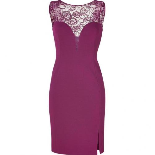 Emilio Pucci Lotus Lace and Jersey Combo Dress