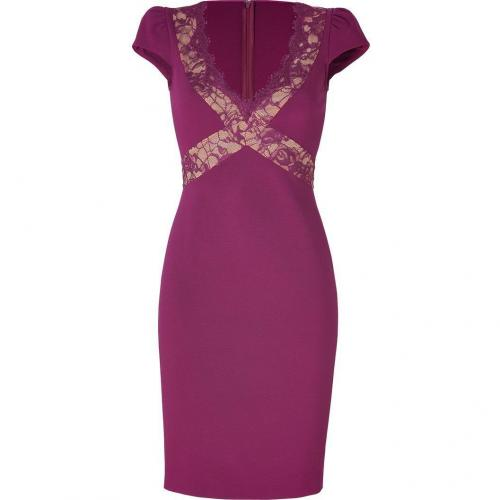 Emilio Pucci New Lotus Dress with Lace Panels