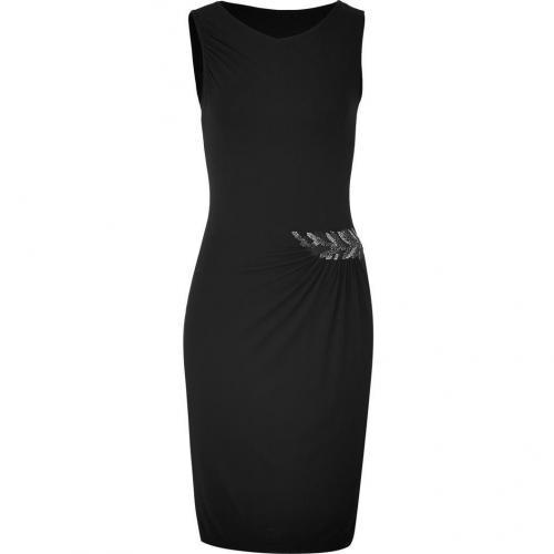Etro Black Embellished Kleid