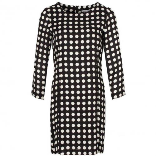 Fairly Blusenkleid schwarzweiß