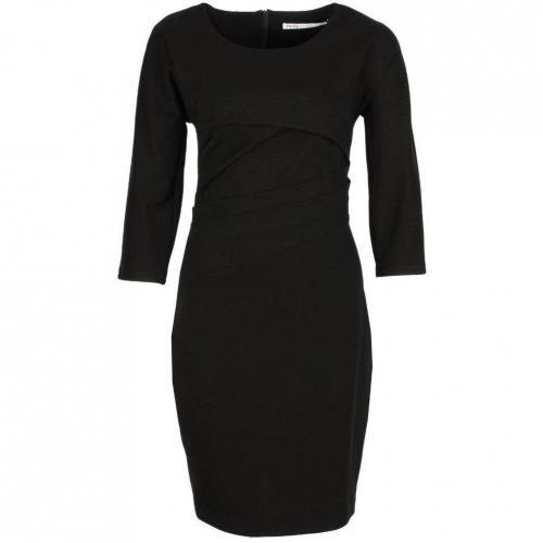 Fairly Jerseykleid schwarz