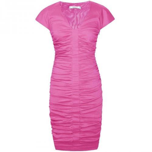 Fashionart Cocktailkleid / festliches Kleid pink mit kurzen Ärmeln