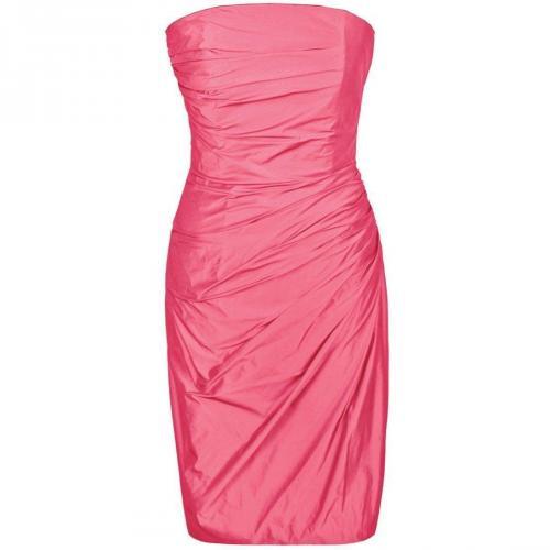 Fashionart Cocktailkleid / festliches Kleid pink ohne Träger